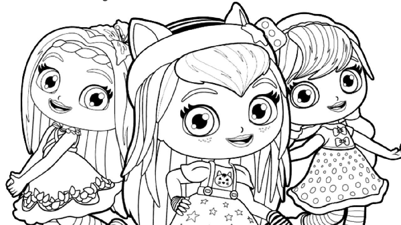 little charmers coloring pages printable - photo#15