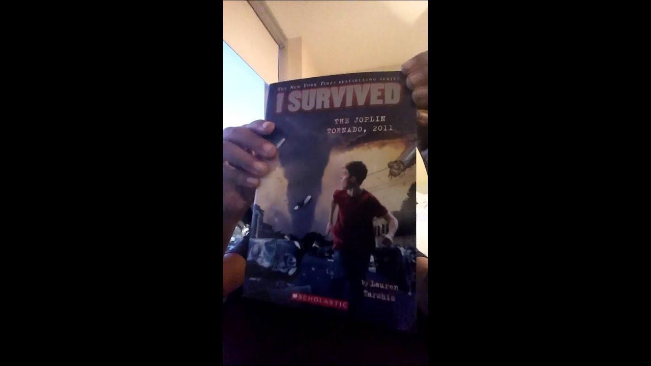 New i survived book i survived the joplin tornado! - YouTube