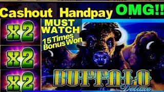 MUST WATCH ❗️ Buffalo Deluxe Slot 💥MASSIVE WIN💥 | Mega Slot Win | CASINO | Slot |Aristocrat Slot