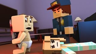 minecraft   who s your daddy family baby kills baby sitter baby sitter vs baby