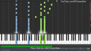 Taylor Swift - Safe & Sound (Piano Cover) by LittleTranscriber (ft. The Civil Wars)