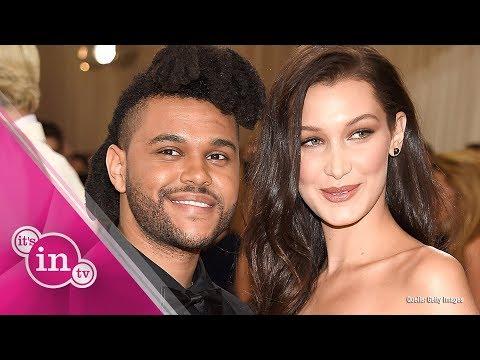 Bella Hadid kommentiert Gerücht um Knutscherei mit The Weeknd!