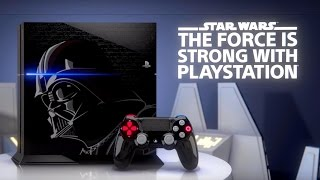 Playstation 4 - 500GB Star Wars Battlefront Limited Edition Bundle Unboxing(I am a HUGE Star Wars fan, so I JUST HAD to get this console. This game is probably going to be the best Star Wars games ever created. Theres several ..., 2015-11-18T04:43:35.000Z)