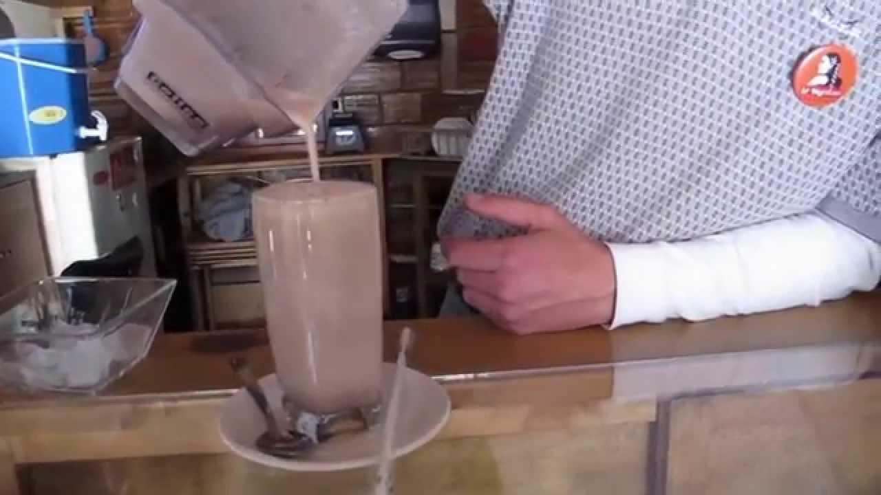 """Chocolate frío en """"La Mestiza"""""""