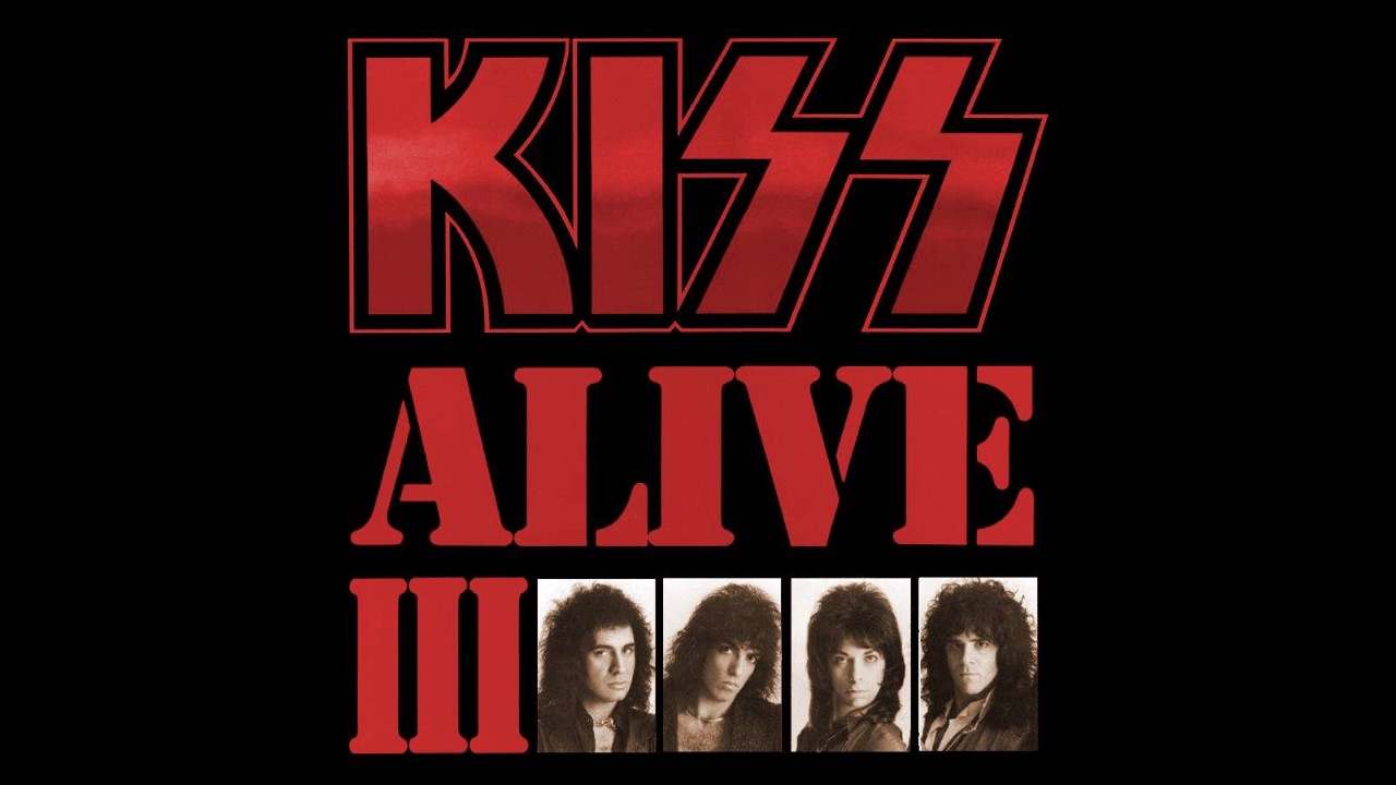 Kiss - Alive III (feat  Eric Carr & Vinnie Vincent)