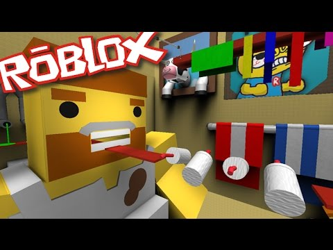 Roblox ESCAPE THE BATHROOM OBBY / BECOME A GIANT COW!! Roblox