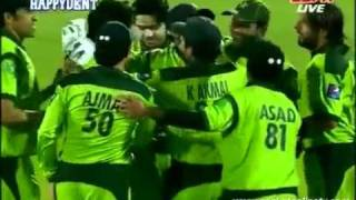 vuclip Pakistan vs england 4th one day in lord's 2010