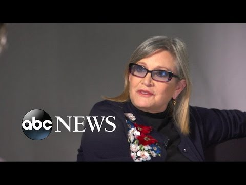 Carrie Fisher Rare Interview with David Muir