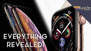 Massive Leak! iPhone XS + Apple Watch Series 4 LEAKED By Apple!