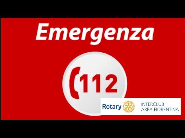 Il NUE 112 ospite al Rotary