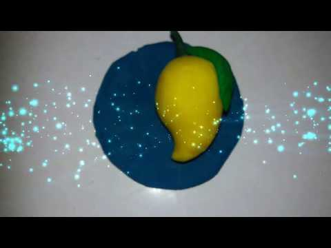 HOW TO MAKE MANGO WITH CLAY FOR KIDS ART & CRAFT COMPETITION