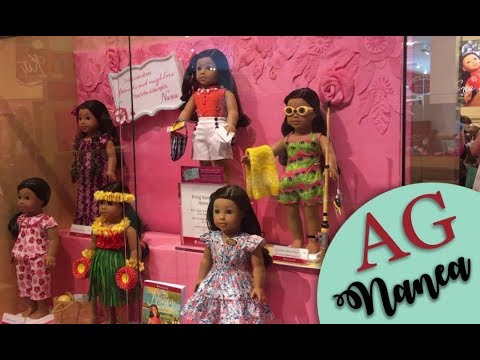 Visiting Nanea's Release At AG Store Atlanta - Live Hula Dancing! - BIG Nanea Haul!!