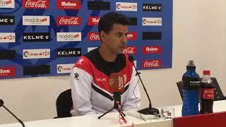 Rueda de prensa de Míchel previa al Huesca - Rayo Vallecano