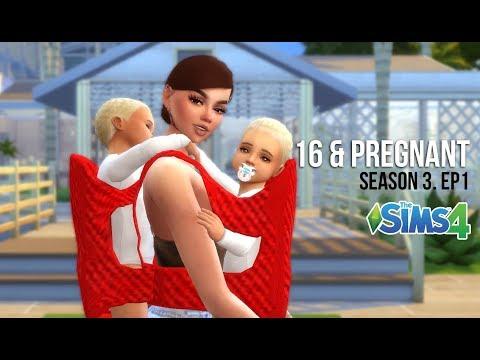 16 & PREGNANT | SEASON 3. EP. 1 L  A Sims 4 Series