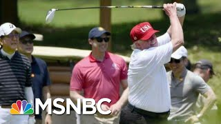 Trump's 247 Days Of Golf Costs Millions In Taxpayer Dollars | The Last Word | MSNBC