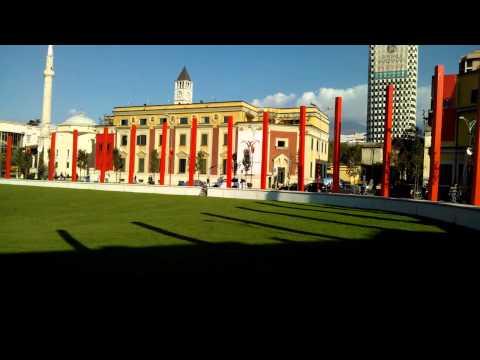 Albania Tirana 2012.11.26. Skanderbeg Square