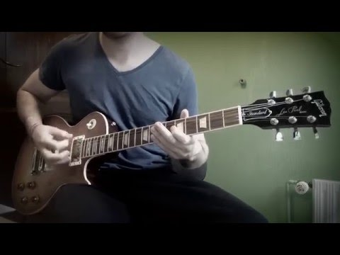 Godsmack - Cryin' Like A Bitch (Guitar Cover)