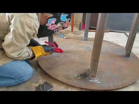 Making a Welding Table Part 2: Gusset Madness