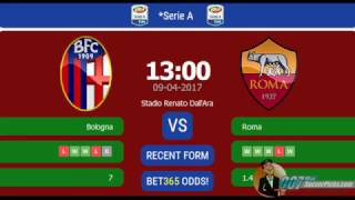 Bologna vs AS Roma PREDICTION (by 007Soccerpicks.com)