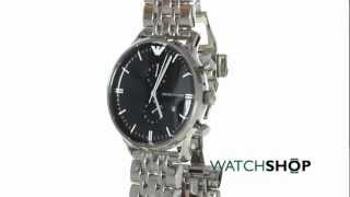 men s emporio armani chronograph watch ar1648