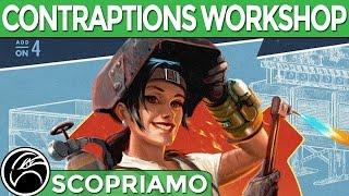 FALLOUT 4 CONTRAPTIONS WORKSHOP DLC Gameplay ITA Tutti i nuovi oggetti