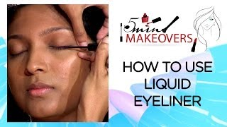 Quick Eye Make-up II How To Use Liquid Eyeliner II The Cloakroom Thumbnail