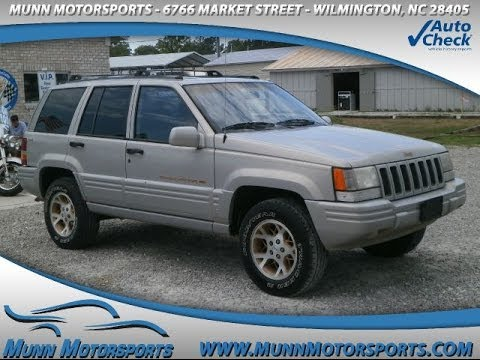 1997 Jeep Grand Cherokee Limited 4dr 4WD SUV For Sale