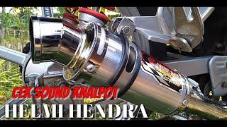 Suara Knalpot HELMI HENDRA Di Motor Revo