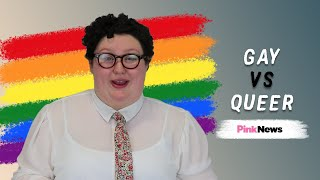 What does queer mean? and is the difference between #gay #queer? non-#bisexual activist jess explains how they see it.subscribe to pinknews: http://...