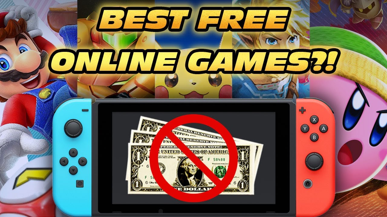The Top 5 Free Online Multiplayer Games on the Nintendo Switch!! - YouTube