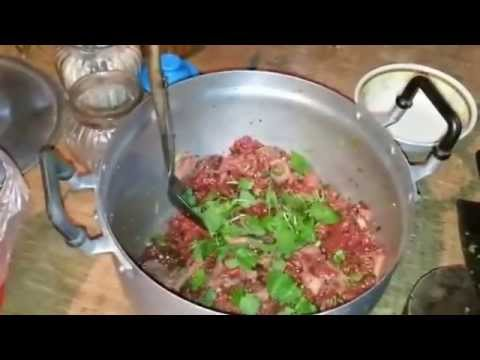 ก้อยเนื้อวัวดิบๆๆ สูตรสาวอีสานบ้านทุ่ง-Koi Beef