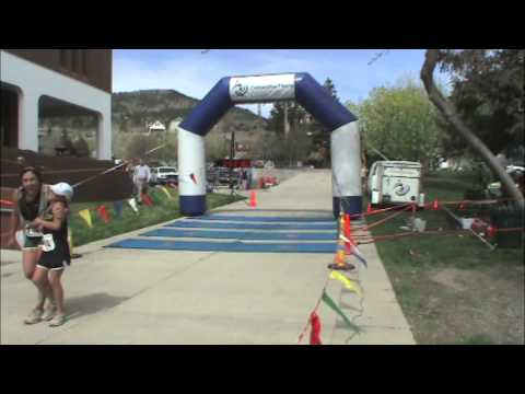 2013 Don't Fence Me In Trail Run finish