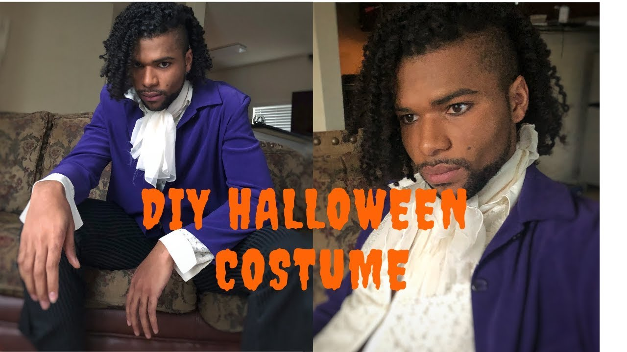 Diy Easy Thrifted Prince Purple Rain Costume