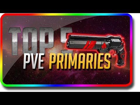 "Destiny 2 - ""Top 5 PvE Primary Guns"" in the Last Wish Raid (Destiny 2 Forsaken DLC ""Top 5"")"