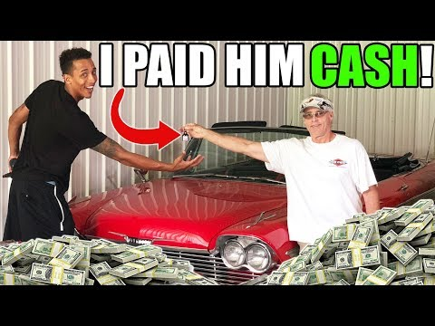 I BOUGHT MY NEW CAR WITH STRAIGHT CASH!!