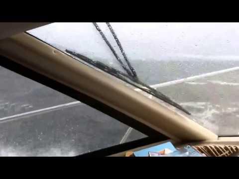 Rosario Strait Big Waves in Bayliner 3587