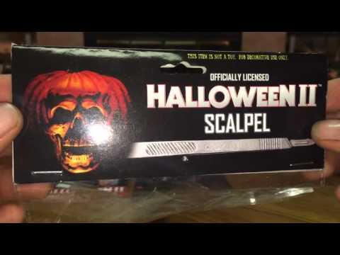 HALLOWEEN II: (TOTS) Trick or Treat Studios Officially Licensed Scalpel Unboxing/Review!