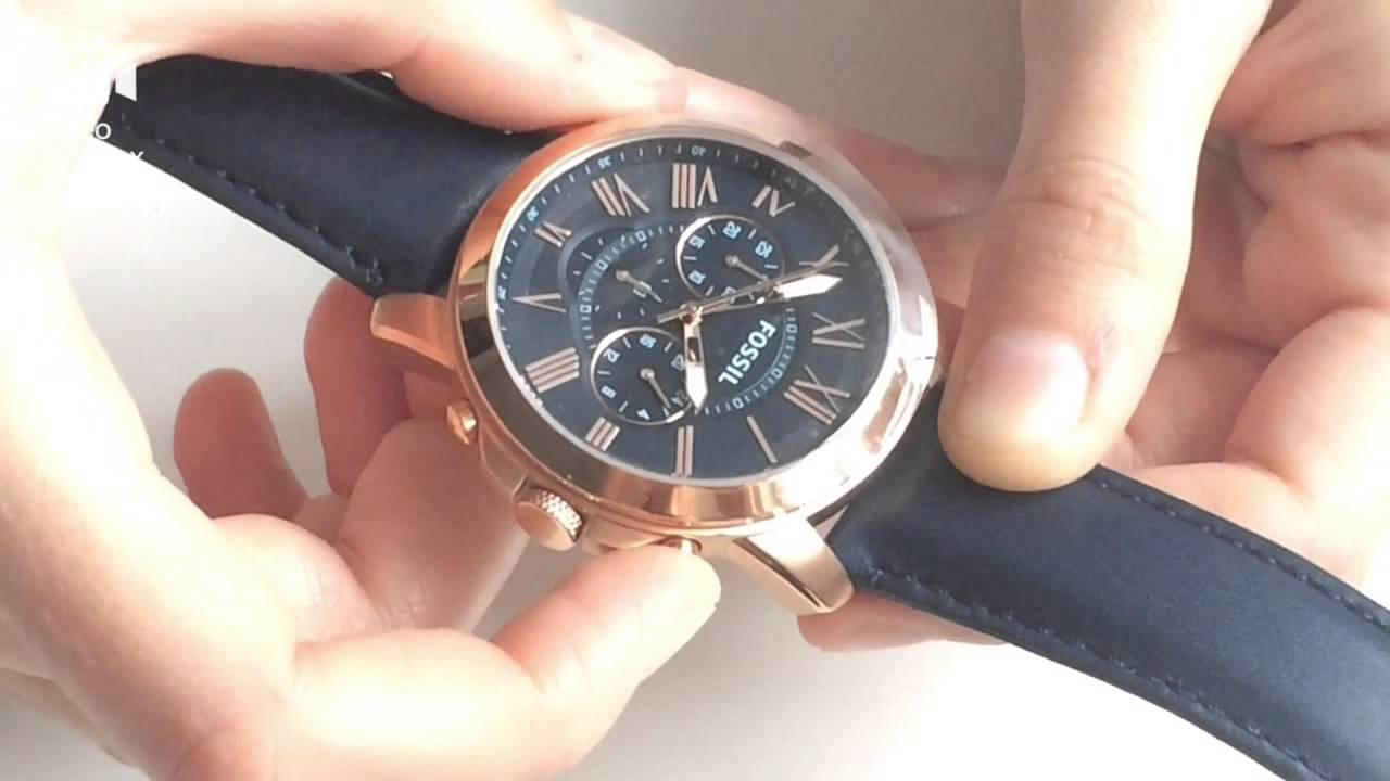 Ceas Fossil Grant Fs4835 Review Unboxing Fs5068 Youtube