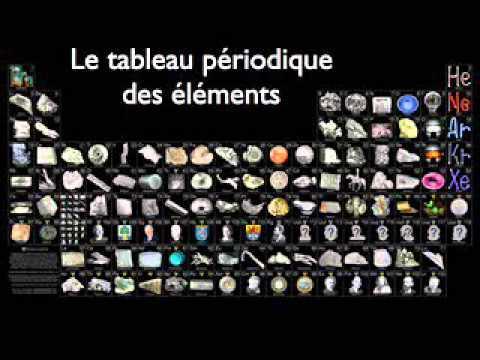 Le tableau p riodique youtube for Tableau periodique