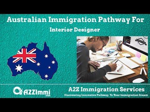 Australia Immigration Pathway for Interior Designer (ANZSCO Code: 232511)