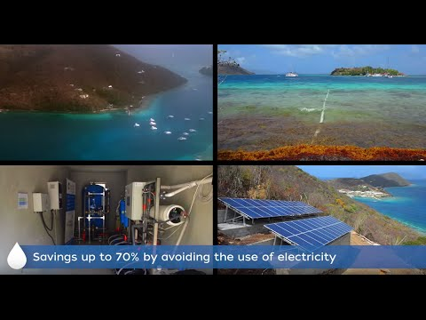 Solar desalination - Virgin Islands - fresh water from unlim