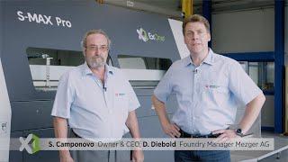 Innovative und nachhaltige 3D-Drucktechnologie für die Gießerei der Zukunft