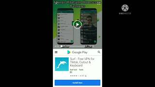 app surf free VPN for tiktok cutout & keyboard setting application screenshot 2