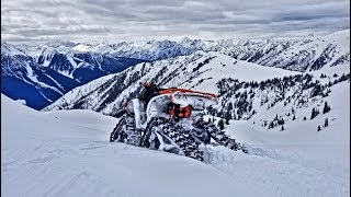 Project Yeti:Apache Backcountry Tracks in The Alpine!