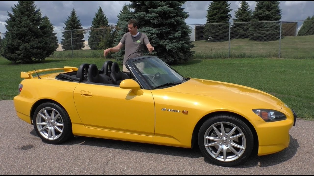 Here's Why Everyone Loves the Honda S2000