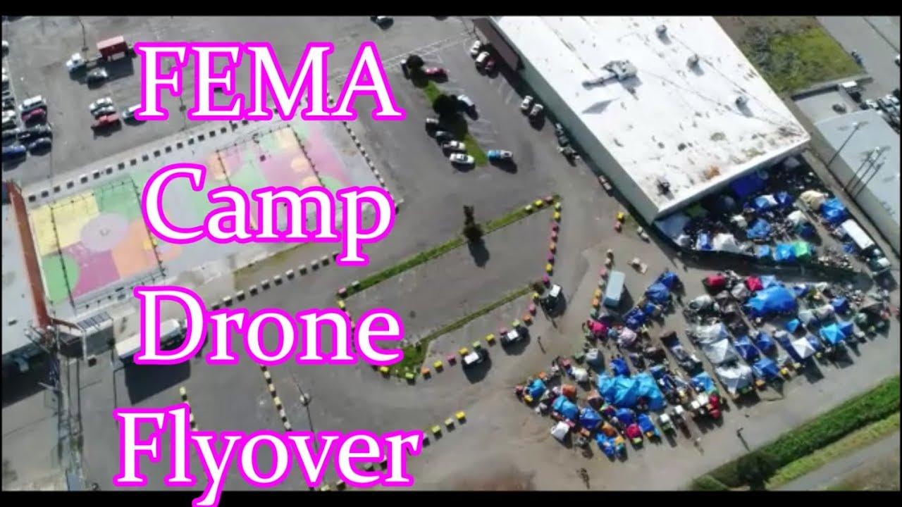 """Santa Rosa """"FEMA Camp"""" Drone Flyover...DJI Phantom 4 Pro Obsidian Edition  Drone - YouTube"""