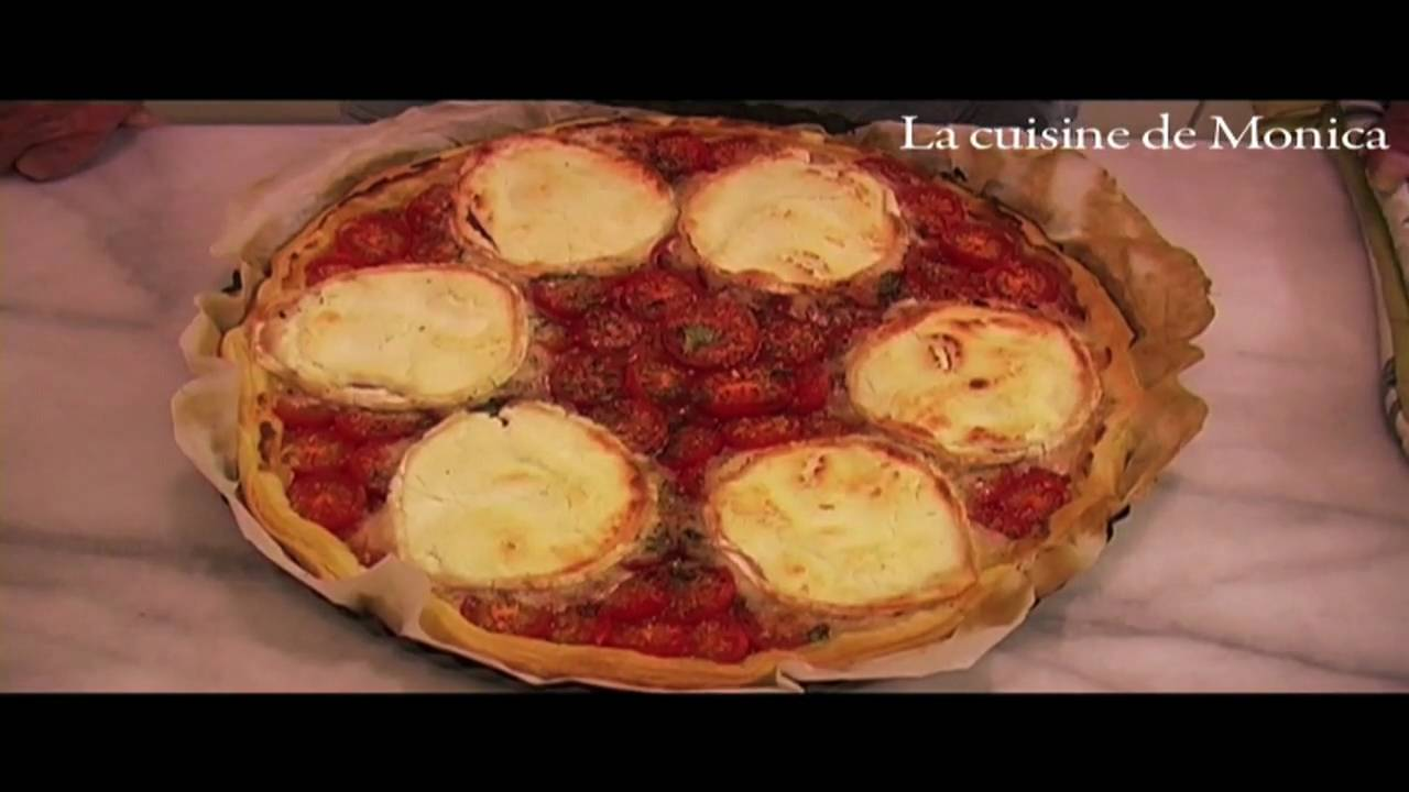 Tarte à La Moutarde Par Mamy Monica YouTube - La cuisine de monica