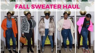 FALL 🍂🍁 SWEATER HAUL (TRY ON HAUL)