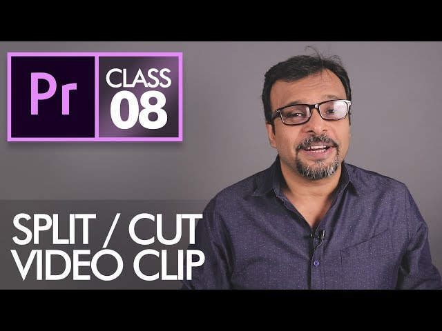 Razor Tool and Ripple Delete - Adobe Premiere Pro CC Class 8 - Urdu / Hindi