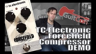 TC Electronic Forcefield Compressor Pedal Review & Demo from GuitCon 2017 (Stompbox Saturday Ep.104)